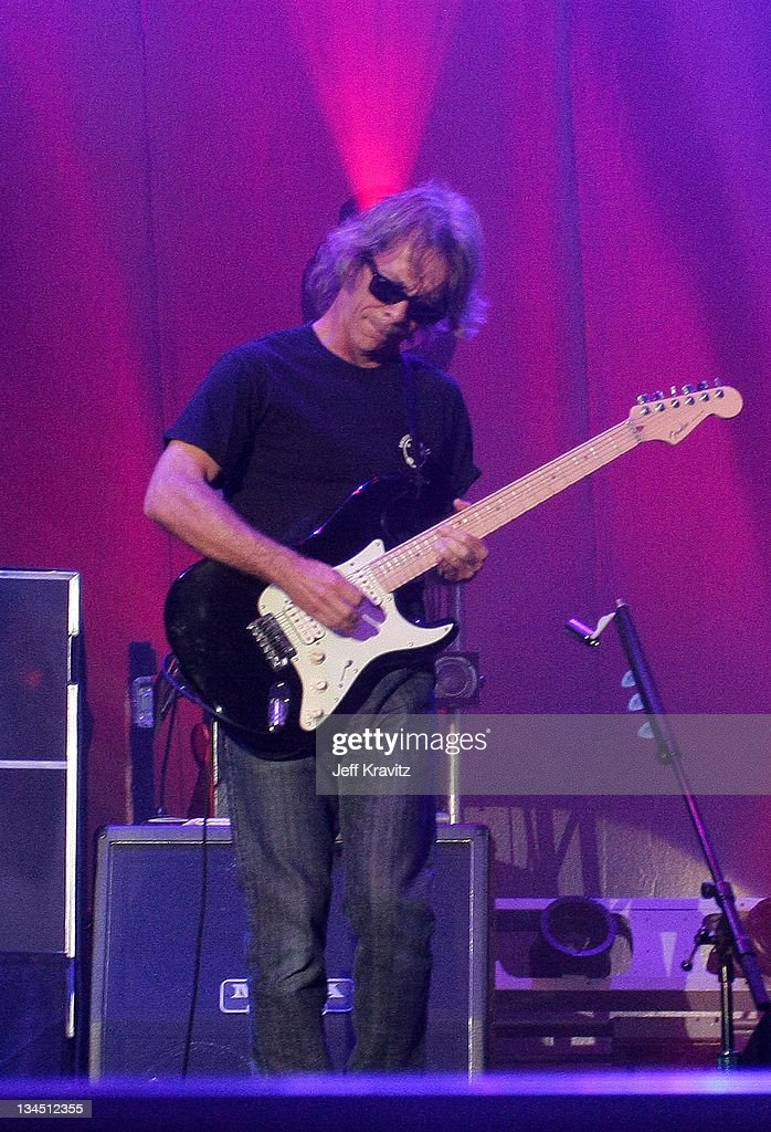 Tim Reynolds with Dave Matthews Band performs during day two of Dave Matthews Band Caravan at Bader Field on June 25, 2011 in Atlantic City, New Jersey.