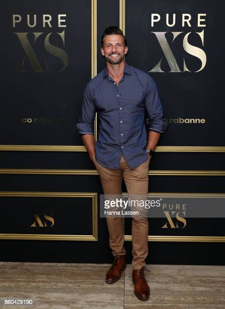 Tim Robards arrives ahead of the Paco Rabanne men's fragrance launch at the Ivy Penthouse on October 12 2017 in Sydney Australia