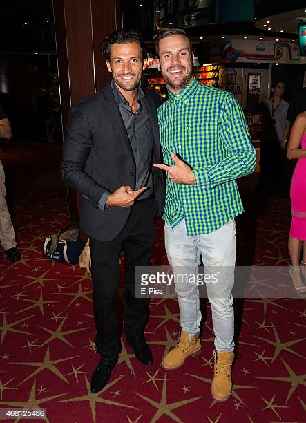 Tim Robards Beau Ryan Attend the Australian Premiere of Fast and Furious 7 at Entertainment quarter on March 30 2015 in Sydney Australia