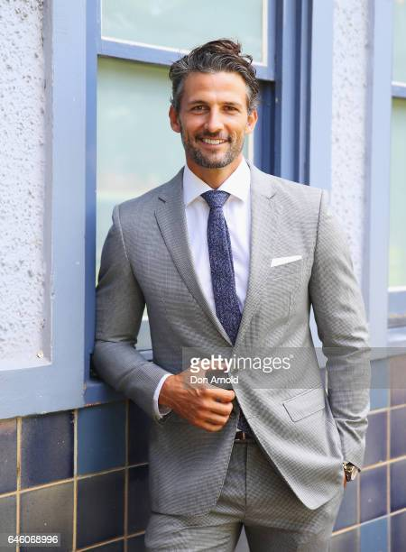 Tim Robards poses at the Australian Turf Club 2017 Sydney Carnival Launch at Royal Randwick Racecourse on February 28 2017 in Sydney Australia