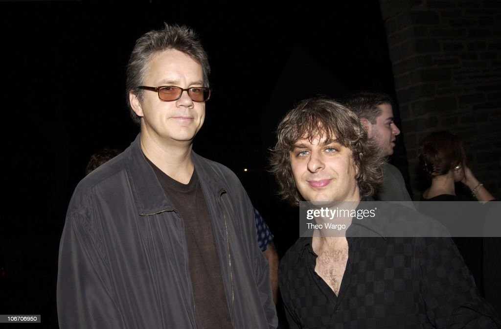Tim Robbins and Mike Gordon during Woodstock Film Festival and Allaire Studios Present 'Rising Low' Directed by Mike Gordon of Phish at Allaire Studios in Woodstock, New York, United States.