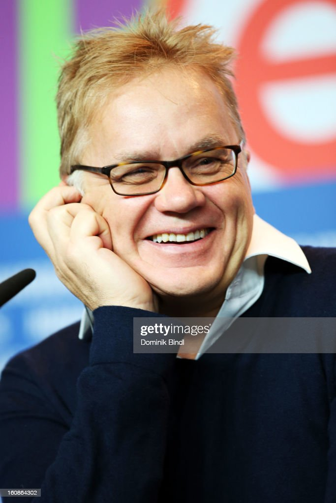 <a gi-track='captionPersonalityLinkClicked' href=/galleries/search?phrase=Tim+Robbins&family=editorial&specificpeople=182439 ng-click='$event.stopPropagation()'>Tim Robbins</a> attends the International Jury Press Conference during the 63rd Berlinale International Film Festival at the Grand Hyatt on February 7, 2013 in Berlin, Germany.