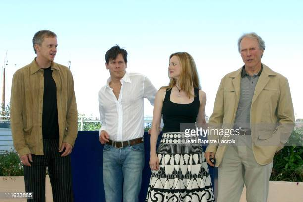 Tim Robbins Kevin Bacon Laura Linney and Clint Eastwood
