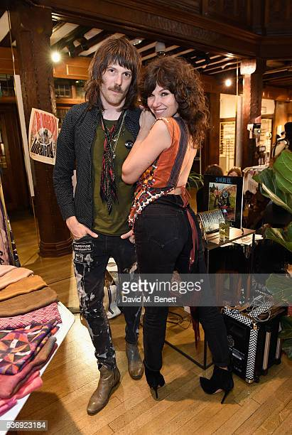 Tim Rockins and Jess Morris attend the Rockins Happening at Liberty London on June 1 2016 in London England