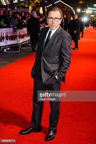 Tim Roth attends the European Premiere of 'The Hateful Eight' at Odeon Leicester Square on December 10 2015 in London England