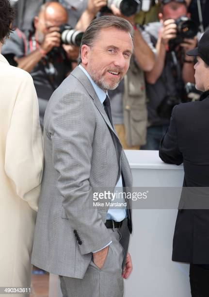 Tim Roth attends the 'Grace of Monaco' photocall at the 67th Annual Cannes Film Festival on May 14 2014 in Cannes France