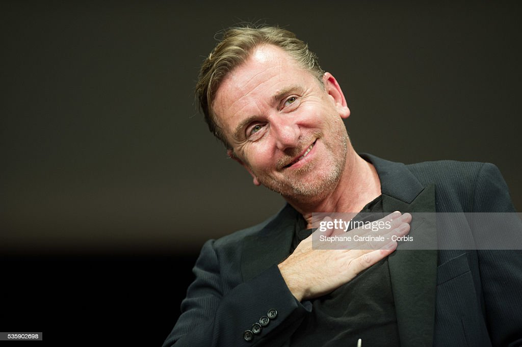 Tim Roth attends the Tribute to Quentin Tarantino, during the 5th Lumiere Film Festival, in Lyon.