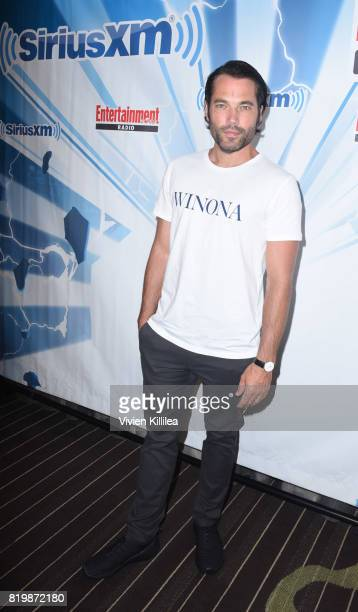 Tim Rozon attends SiriusXM's Entertainment Weekly Radio Channel Broadcasts From Comic Con 2017 at Hard Rock Hotel San Diego on July 20 2017 in San...