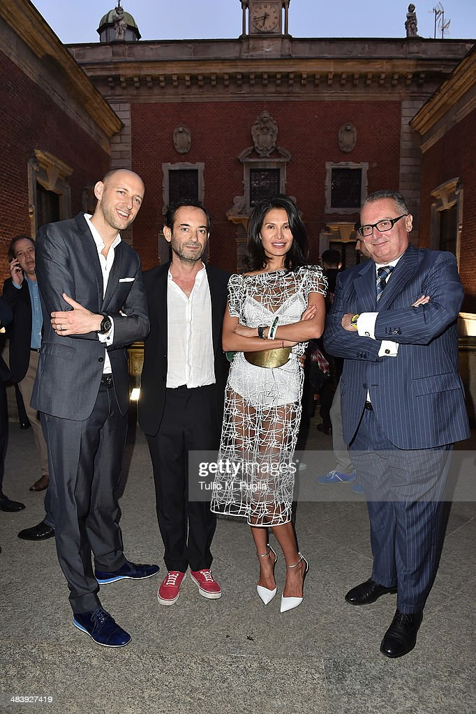 Tim Sayler Audemars Piguet Marketing Director Jacopo Foggini Goga Ashkenazi and Franco Ziviani Audemars Piguet Italia CEO attend the Audemars Piguet...