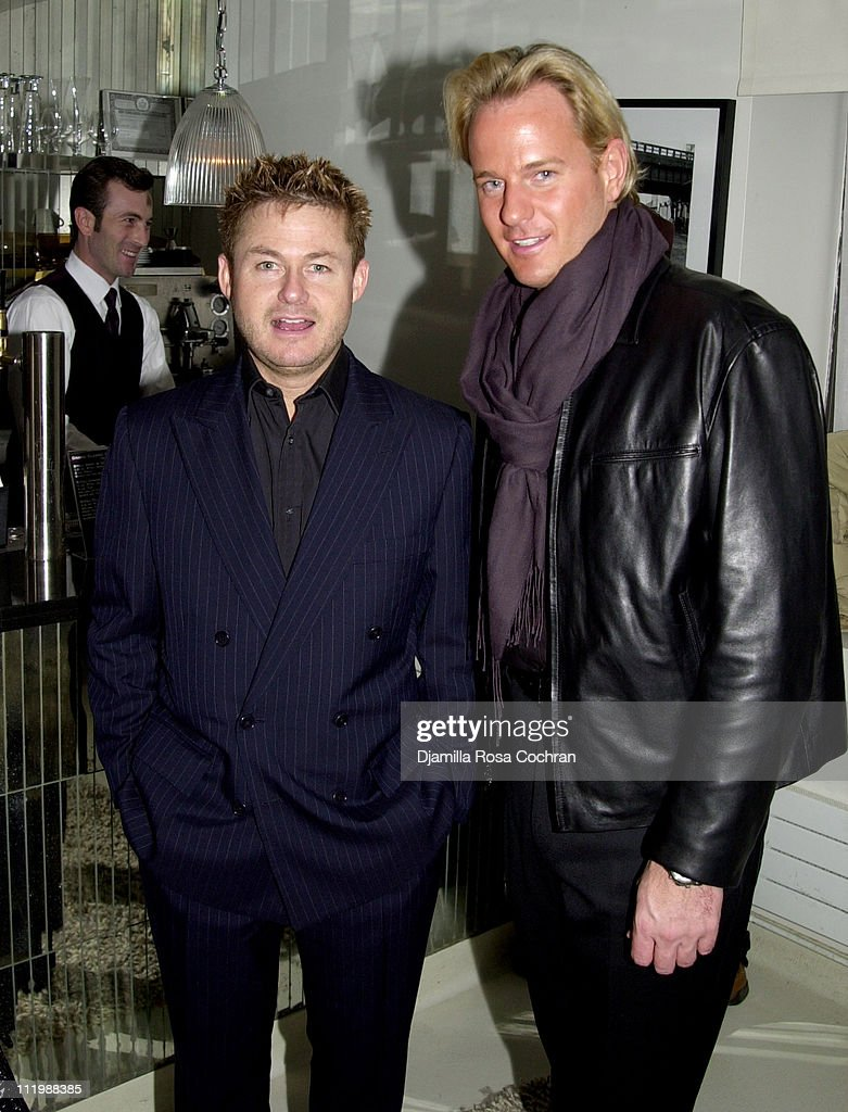 Tim Schifter and Daniel Benedict during The Week presents the Grand Classics screening of 'Darling' hosted by Sofia Coppola at Soho House in New York...