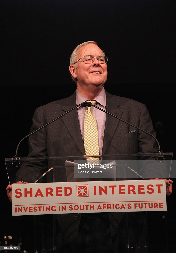 Tim Smith speaks onstage at the Shared Interest 19th Annual Awards Gala on March 18, 2013 in New York City.
