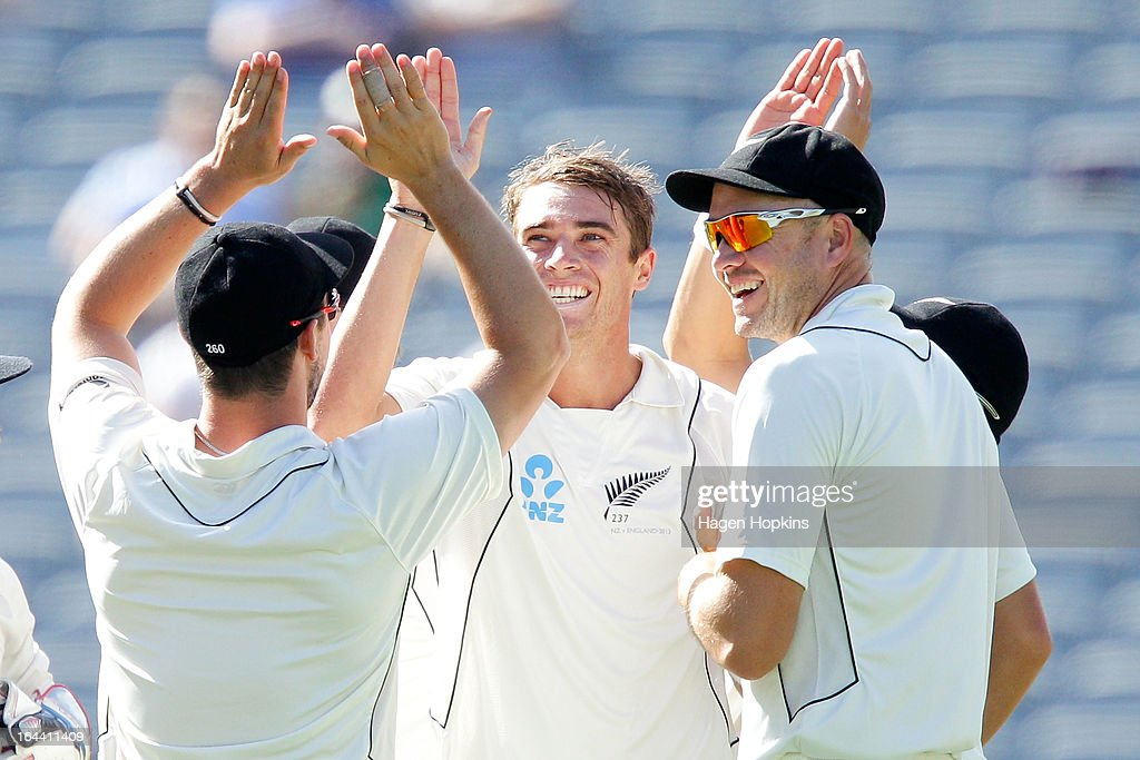 New Zealand v England - 3rd Test: Day 3