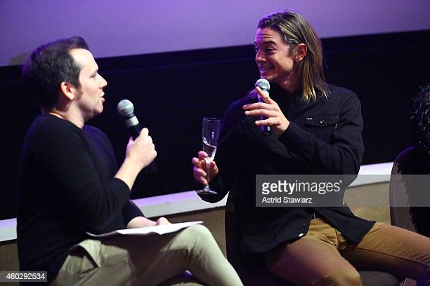 Tim Stack Senior Writer at Entertainment Weekly and actor Craig Horner attend Entertainment Weekly And VH1 Host A Special Screening Of VH1's New...