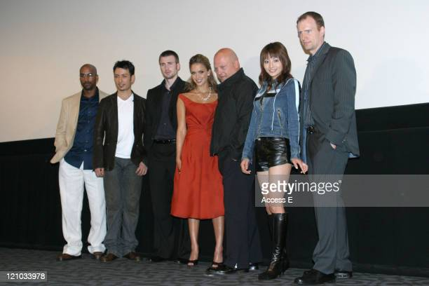 Tim Story Cyril Chris Evans Jessica Alba Michael Chiklis Manabe Kaori and Kevin Feige