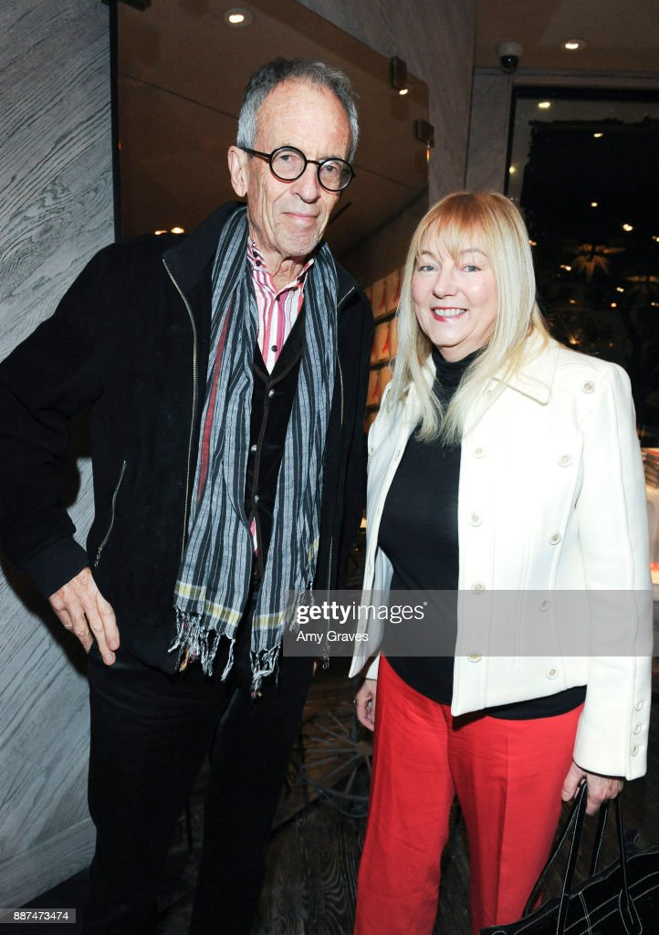 Tim Street-Porter and Annie Kelly attend Kelly Wearstler hosts 'The Authentics' book signing launch party for Melanie Acevedo and Dara Caponigro at Kelly Wearstler Boutique on December 6, 2017 in West Hollywood, California.