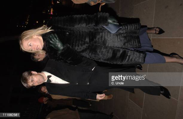 Tim Taylor and Lady Helen Taylor during Portrait Gala Celebrates the Gallery's 150th Anniversary Arrivals at National Portrait Gallery in London...