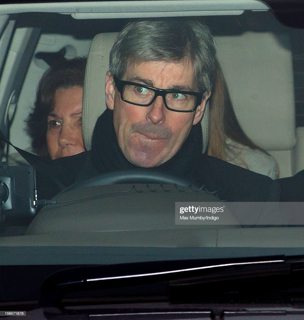 Tim Taylor attends a Christmas lunch for members of the Royal Family hosted by Queen Elizabeth II at Buckingham Palace on December 19, 2012 in London, England.