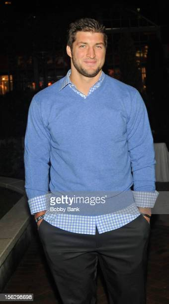 Tim Tebow at Streets of Manhattan on November 12 2012 in New York City