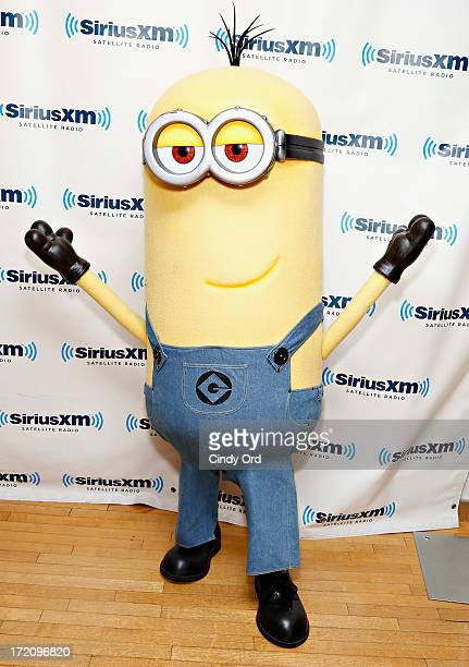 Tim the Minion visits the SiriusXM Studios on July 1 2013 in New York City