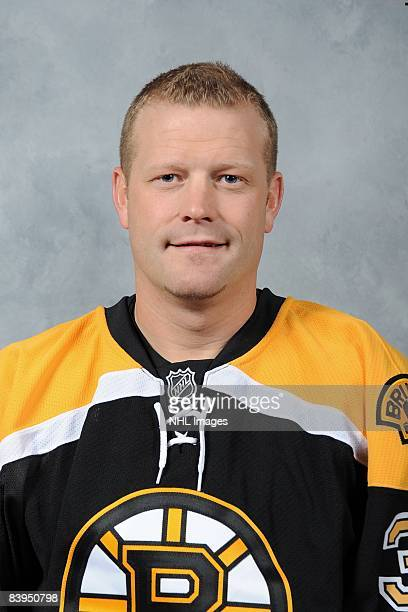 Tim Thomas of the Boston Bruins poses for his official headshot for the 20082009 NHL season