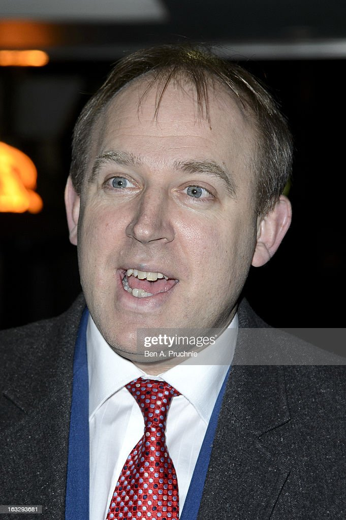 Tim Vine attends the Helping Hands VIP fundraising dinner in aid of WellChild at The Savoy Hotel on March 7, 2013 in London, England.