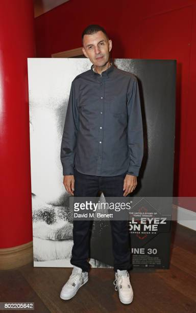 Tim Westwood attends a special screening of 'All Eyez On Me' at The Ham Yard Hotel on June 27 2017 in London England