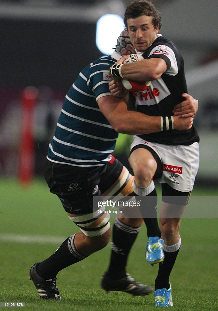 Tim Whithead during the Absa Currie Cup match between The Sharks and GWK Griquas at Mr Price KINGS PARK on October 12, 2012 in Durban, South Africa.