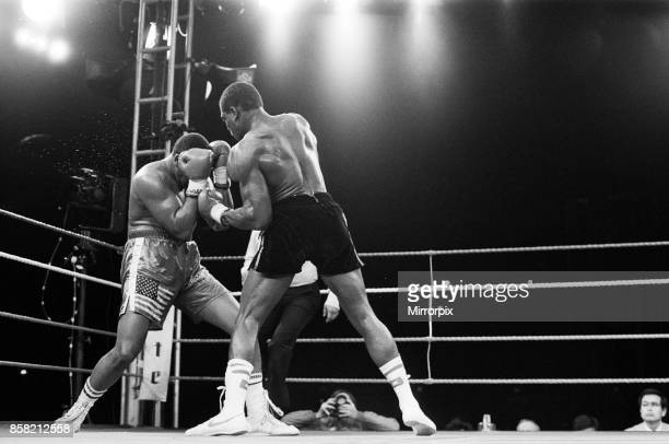 Tim Witherspoon vs Frank Bruno WBA Heavyweight Title fight at Wembley Stadium This was Witherspoon's first defence of his title in which he...