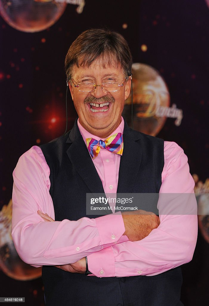 Tim Wonnacott attends the red carpet launch for 'Strictly Come Dancing' 2014 at Elstree Studios on September 2, 2014 in Borehamwood, England.
