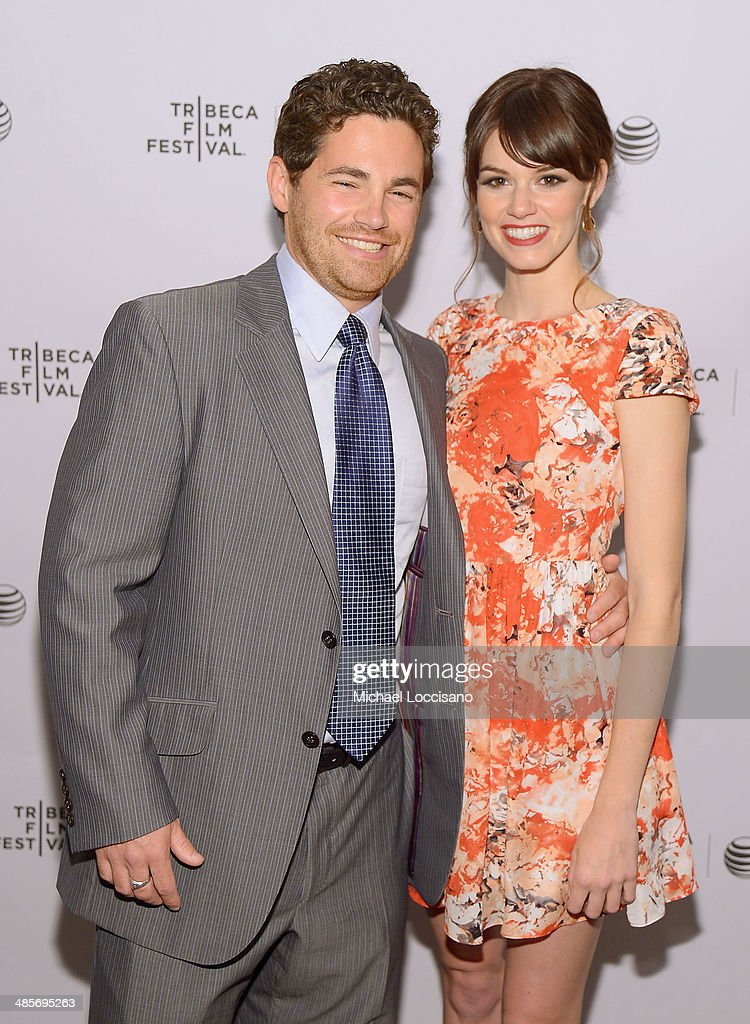 Tim Zajaros and Rachel Melvin attend the 'Zombeavers' Premiere during the 2014 Tribeca Film Festival at Chelsea Bow Tie Cinemas on April 19, 2014 in New York City.