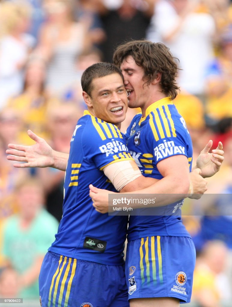 NRL Rd 2 - Eels v Sea Eagles