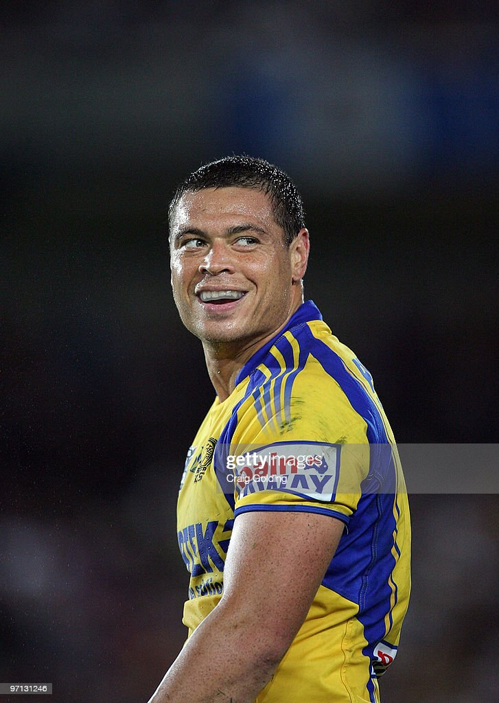 Timana Tahu of the Eels looks on during the NRL trial match between the Sydney Roosters and the Parramatta Eels at Bluetongue Stadium on February 27, 2010 in Gosford, Australia.