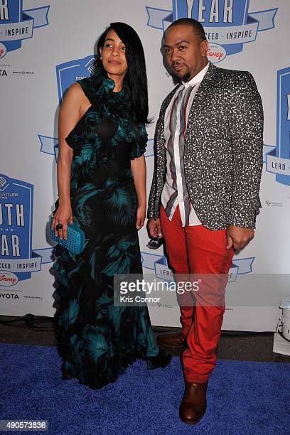 Timbaland and Monique Mosley attend the 2015 Boys and Girls Clubs of America National Youth of the Year celebration at the National Building Museum...