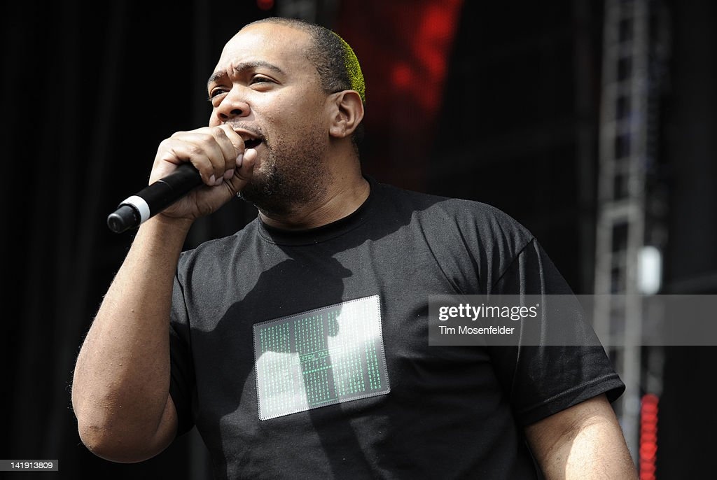 Timbaland performs as part of Day Three of Ultra Music Festival 14 at Bayfront Park on March 25, 2012 in Miami, Florida.