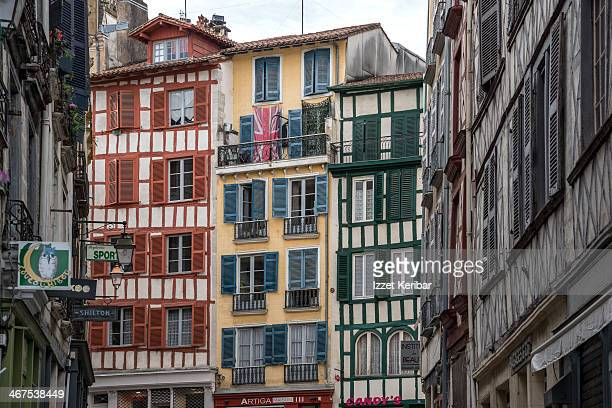 Timbered buildings in Grand Bayonne Quarter