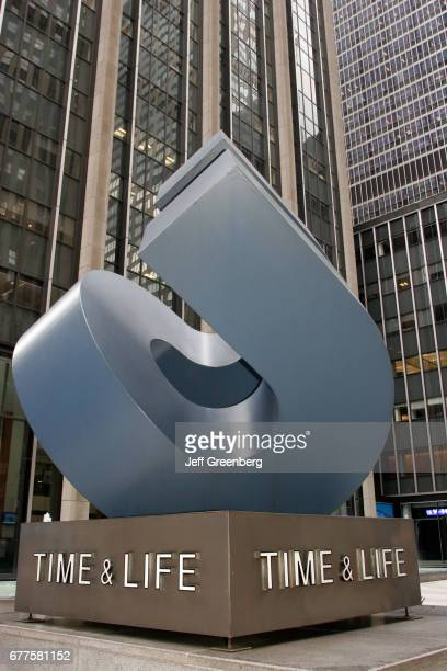 Time and Life Building sculpture