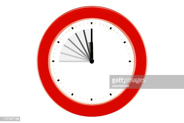 Time Flies! - Isolated Wall Clock