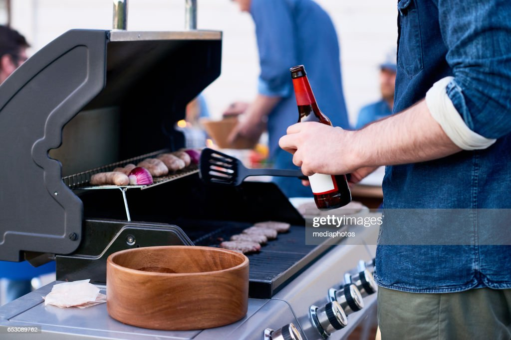 Time for barbeque : Stock Photo