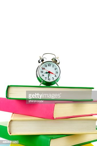 Time for reading : Stock Photo