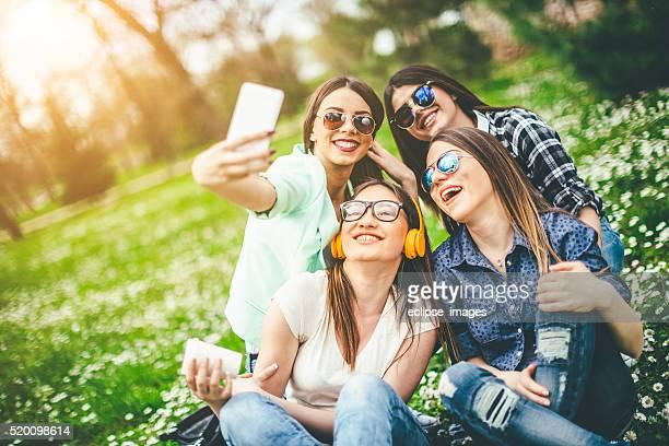 Tempo para uma selfie