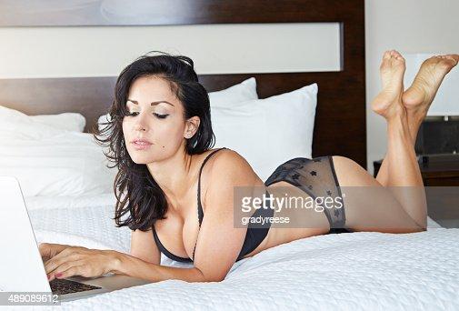 Le temps de la lingerie shopping en ligne