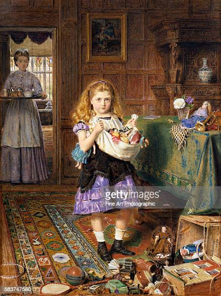 Time for Tea by George Goodwin Kilburne