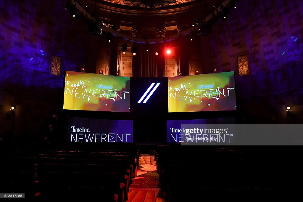 TimeInc. NEWFRONT at Gotham Hall on May 5, 2016 in New York City.