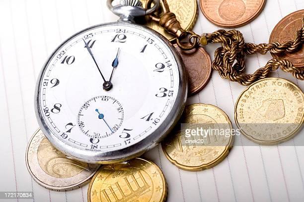 Zeit ist Geld-Farbe