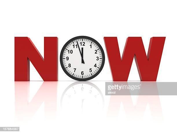 A hora é agora