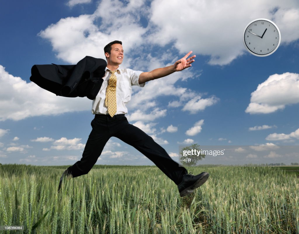 Time Is Running Away : Stock Photo