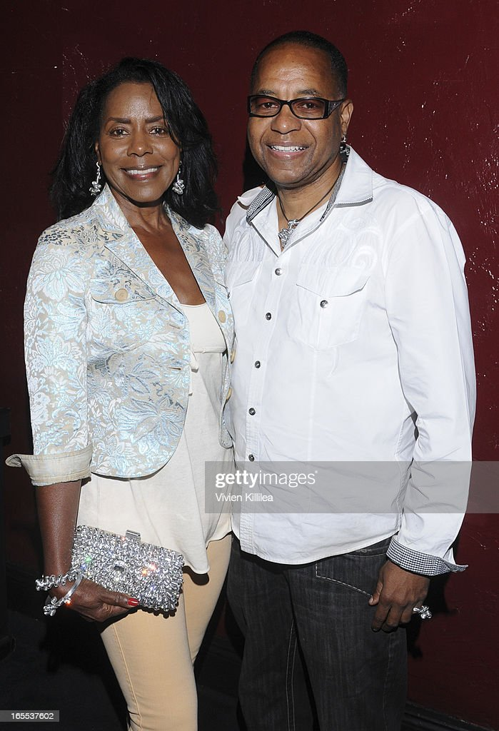 Time McClendon and Linda McClendon attend iiJin's Fall/Winter 2013 'The Love Revolution' Clothing And Footwear Collection Fashion Show at Avalon on April 3, 2013 in Hollywood, California.