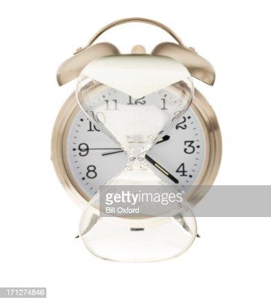 Time Moving Backwards : Stock Photo