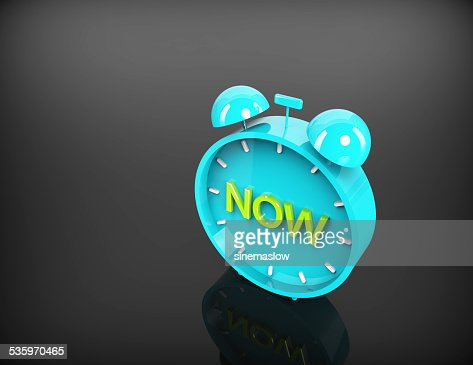 Time NOW concept : Stock Photo
