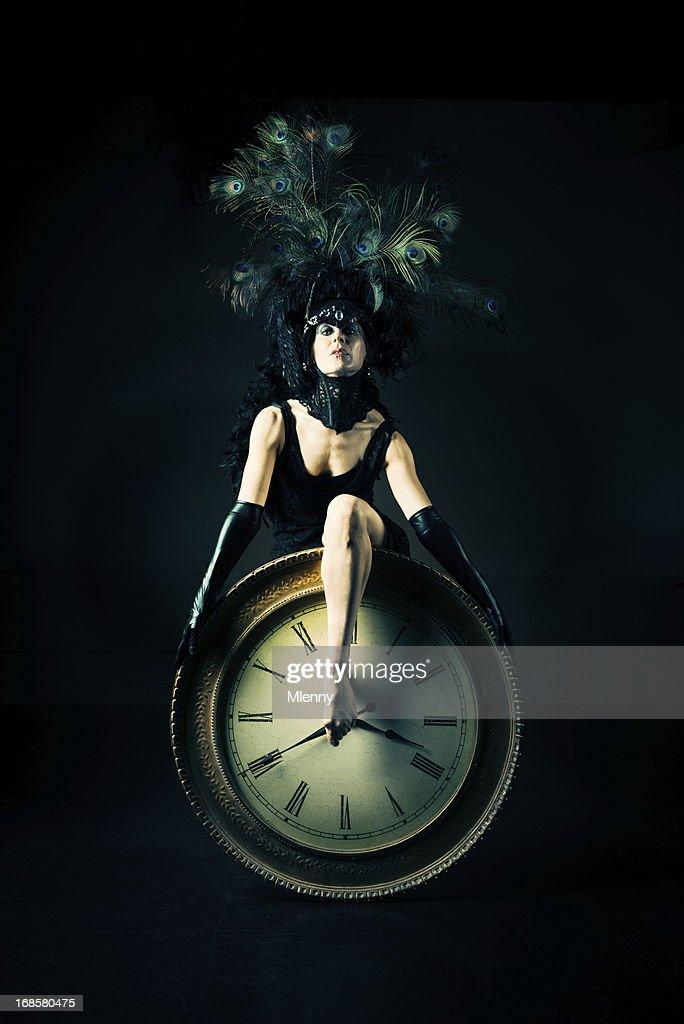 Time Performance Art Portrait